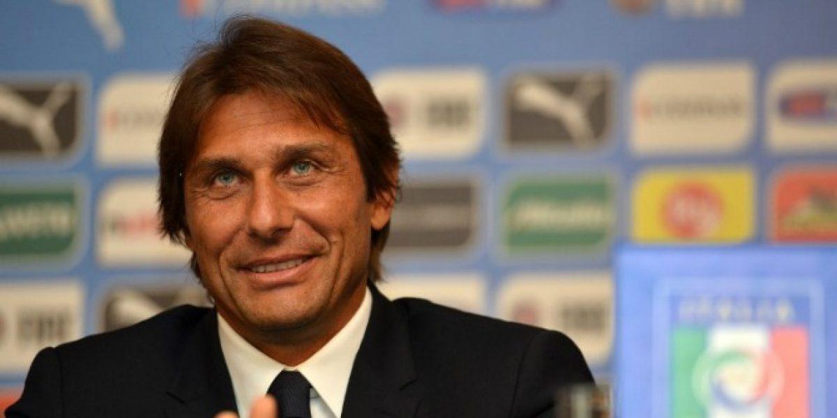 Antonio Conte asumió como técnico italiano en búsqueda de