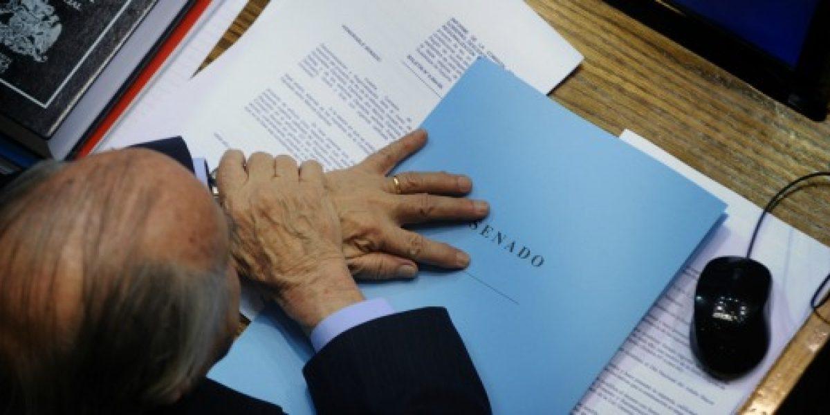 Con el ministro Arenas en la sala se vota en particular el proyecto de reforma tributaria