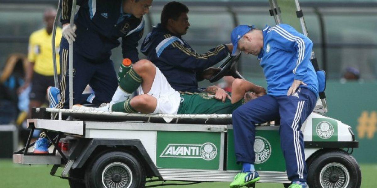 Sigue el calvario: En Palmeiras se enojaron con Valdivia por