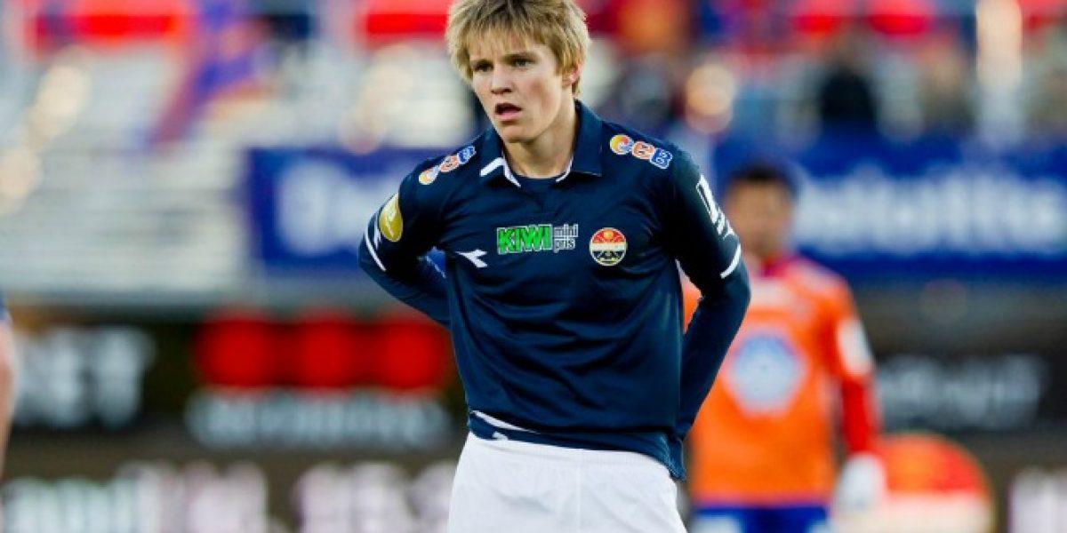 La obsesión de los grandes de Europa fue citado a la selección de Noruega con quince años