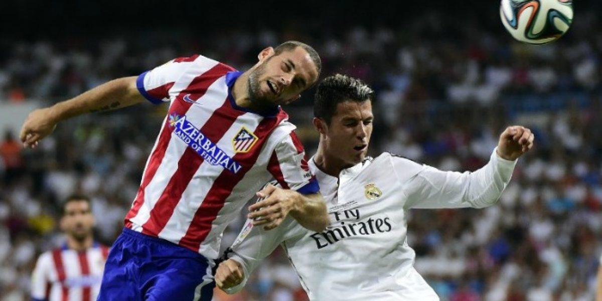 Real Madrid y Atlético igualaron en vibrante partido por la Supercopa