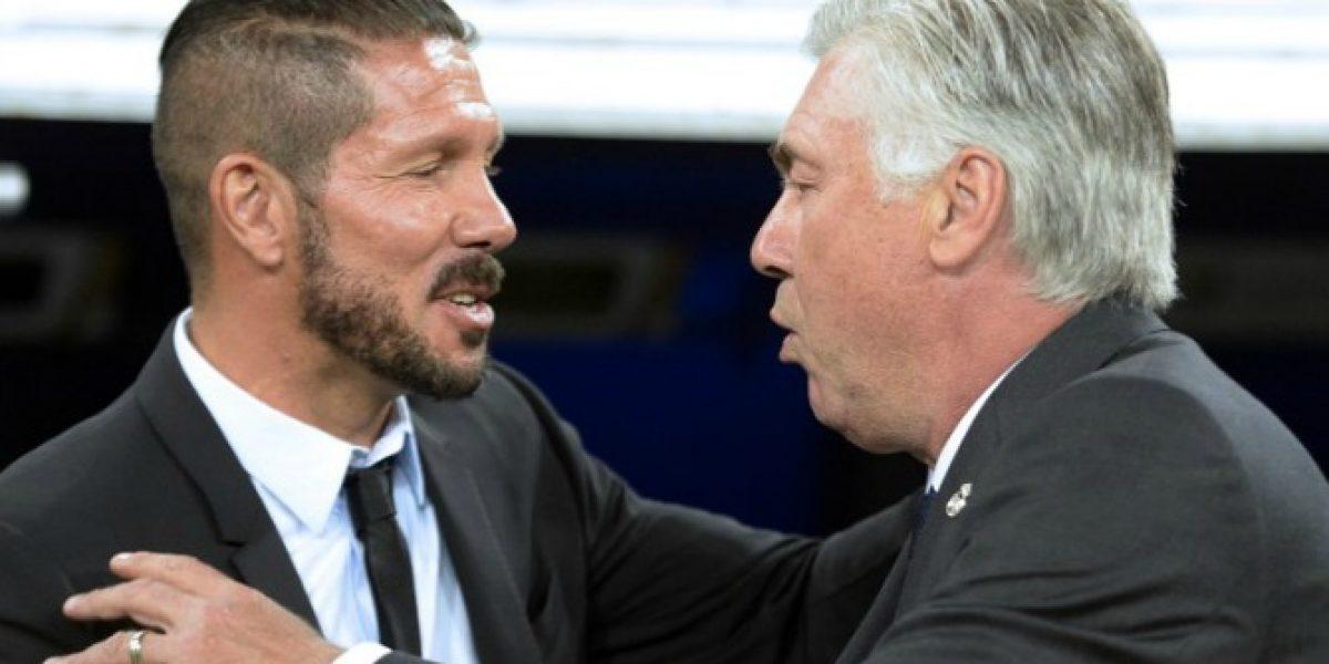 ¿Quién tiene la razón? Las dispares visiones de Acelotti y Simeone de la Supercopa