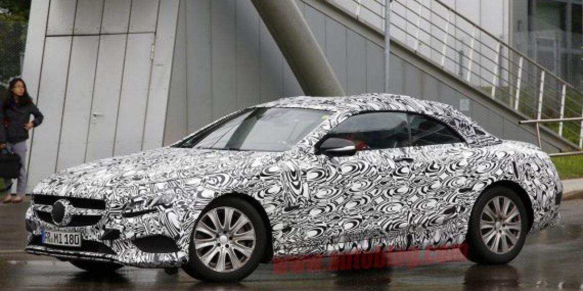 FOTOS ESPÍAS: Mercedes Clase S Cabrio