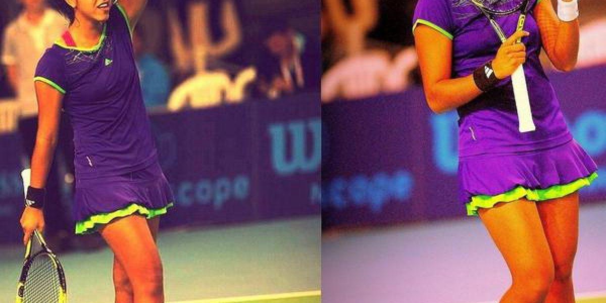 Daniela Seguel debuta con un triunfo sobre la francesa Reix en el ITF de Wanfercee-Baulet