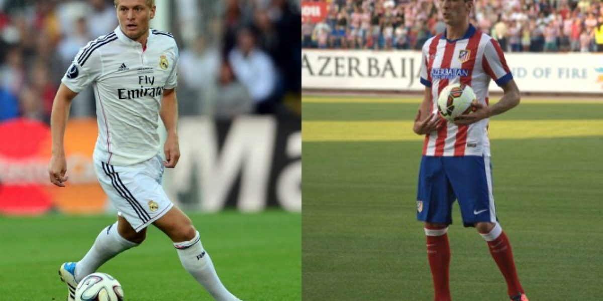 Real Madrid y Atlético Madrid empataron en la ida de la Supercopa de España