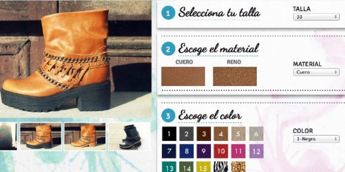 Emprendedores crean plataforma donde las mujeres pueden comprar zapatos diseñados por ellas