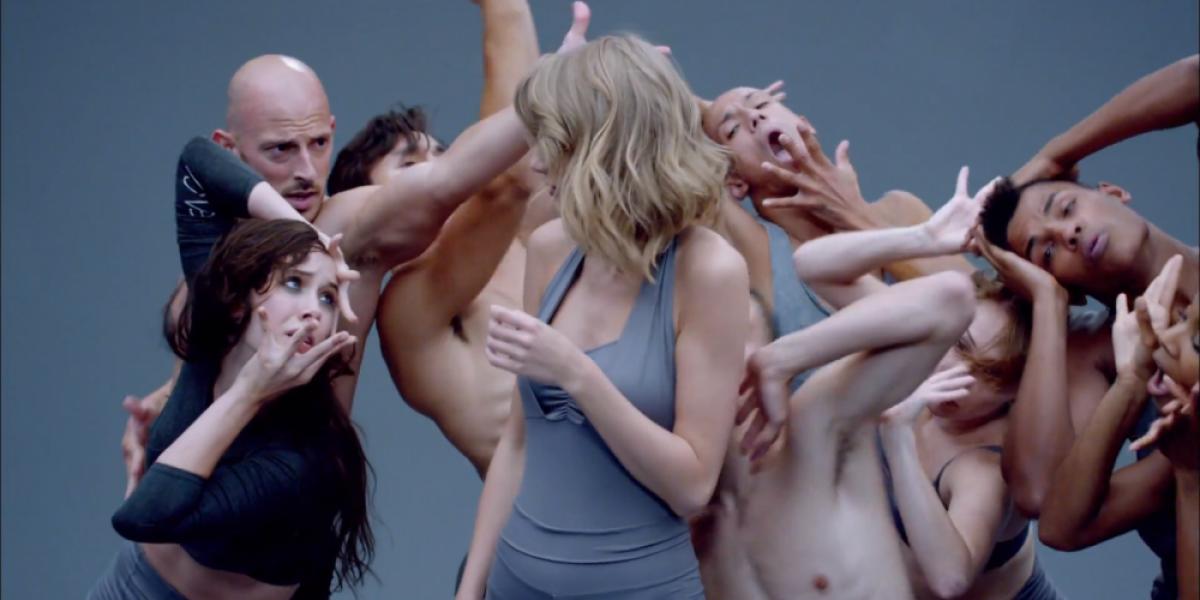 Taylor Swift sacó su lado más erótico en su nuevo video