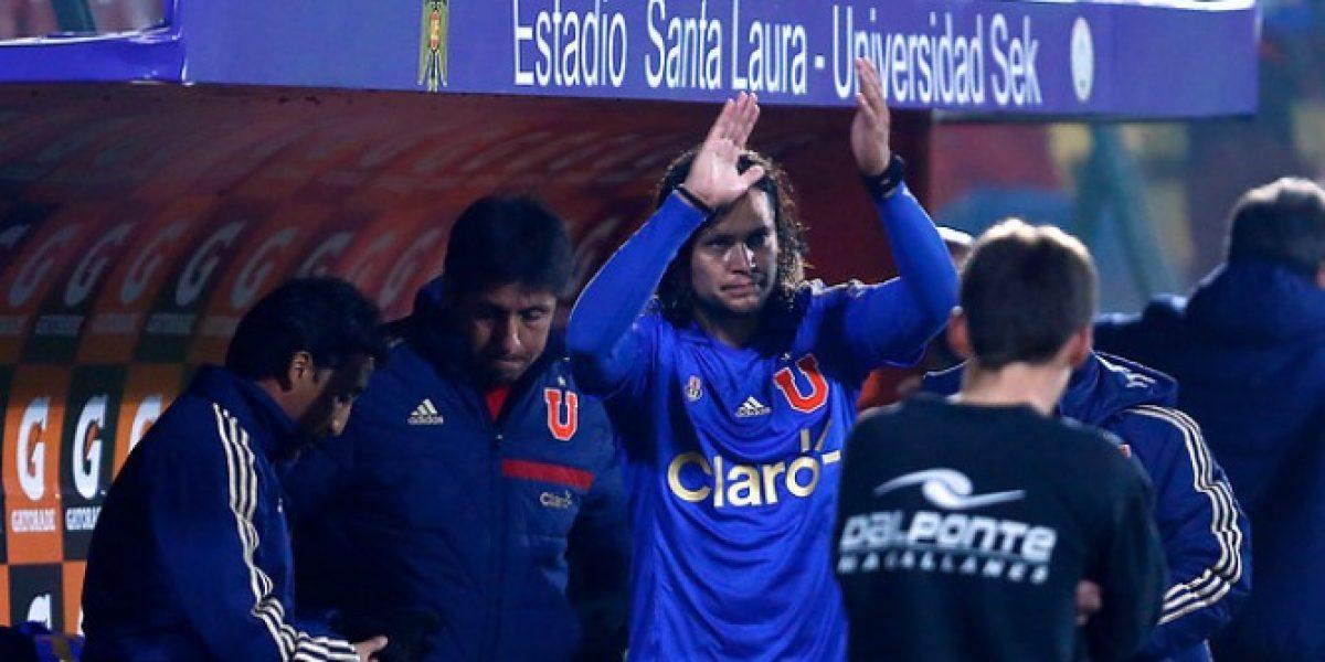 El reestreno de Waldo Ponce marcó la despedida de la U en Copa Chile