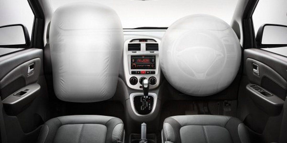 Uso de airbags reduciría en un 30% la mortalidad en accidentes de tránsito