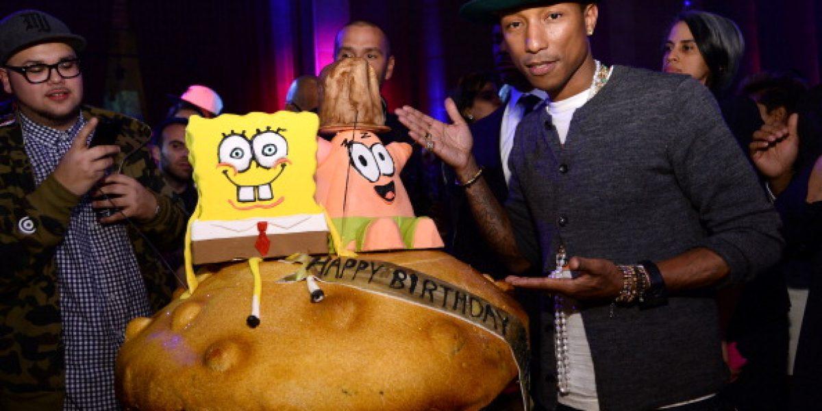 Galería: Las llamativas tortas de cumpleaños de los famosos