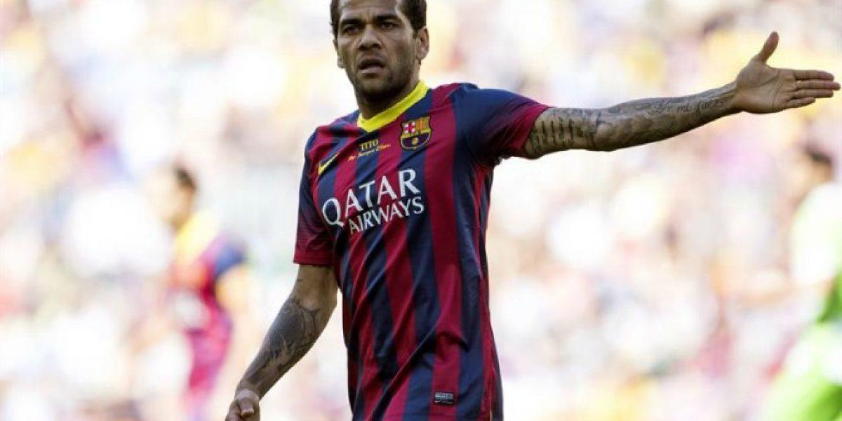 Alves y su molestia con el Barça: