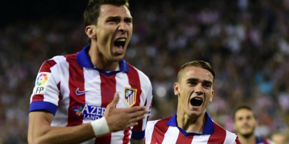 Atlético derrota al Real en el Calderón después de 15 años y se queda con la Supercopa