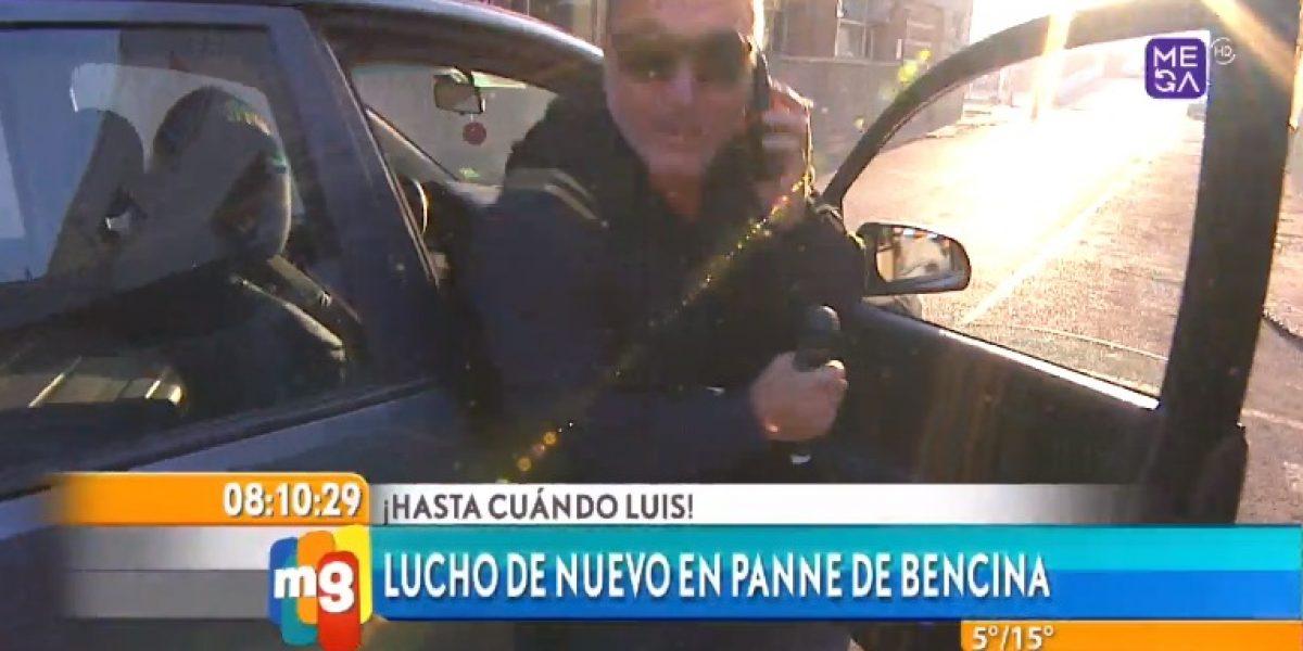 Luis Jara no llega a animar el matinal por quedar en panne de bencina