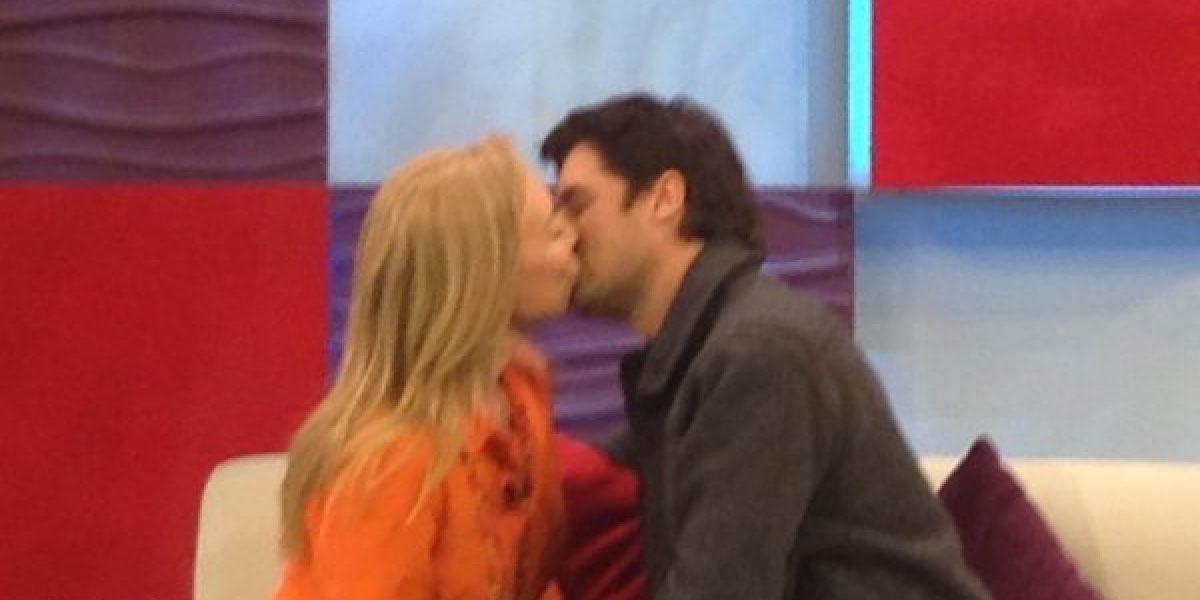 Karen Doggenweiler cumplió el sueño de muchas chilenas y besó a Jorge Zabaleta