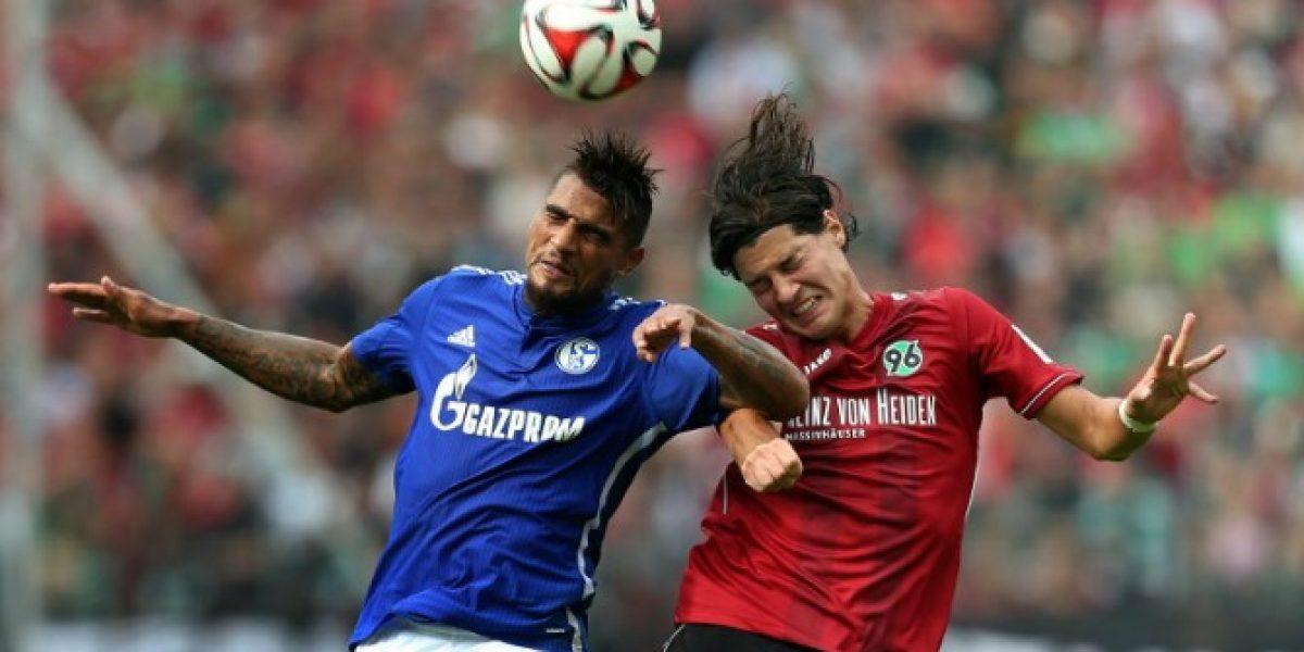 El Hannover con Miiko Albornoz partió con todo en la Bundesliga