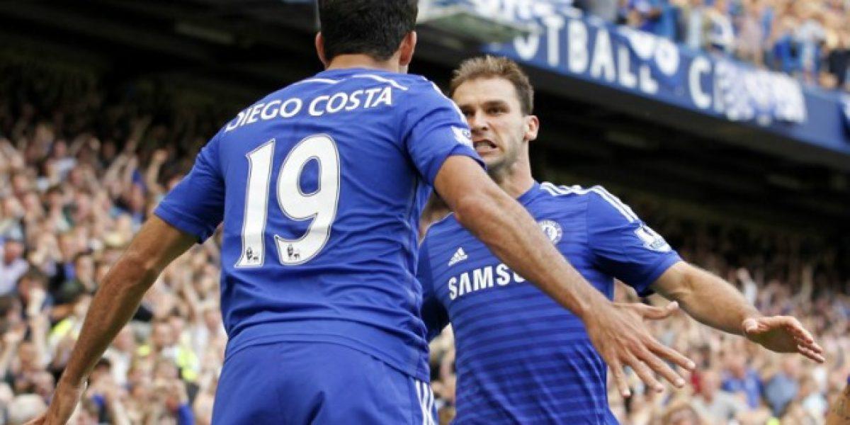 Chelsea se mantiene firme en la Premier con Diego Costa como emblema