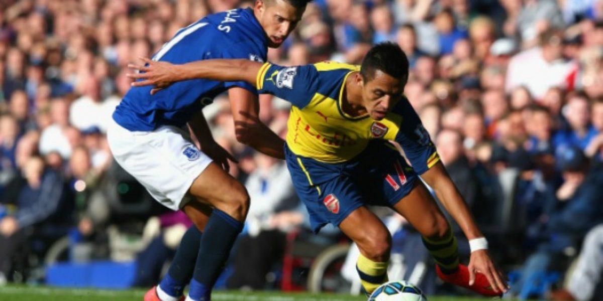 Se quejan: Los hinchas de Arsenal no quedaron contentos con el cambio de Alexis
