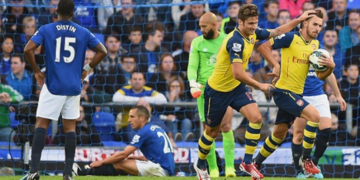 Arsenal no necesitó a Alexis para remontar y conseguir un empate