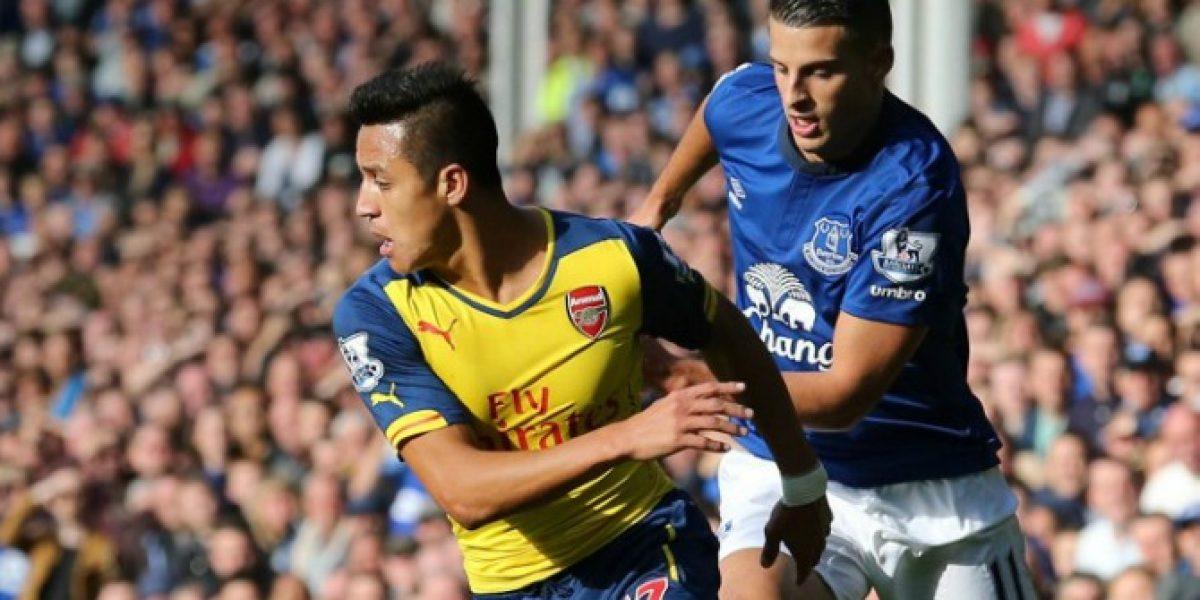 Suma críticas: Alexis recibió la nota más baja del Arsenal