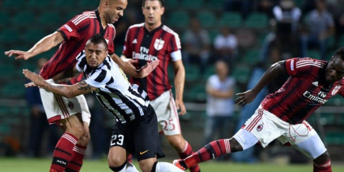 Arturo Vidal reapareció con Juventus en medio de los rumores de su fichaje