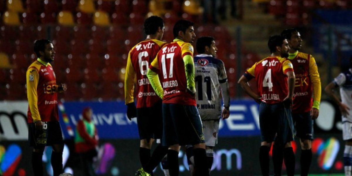 Unión Española y U.de Concepción empataron en partido marcado por el temblor