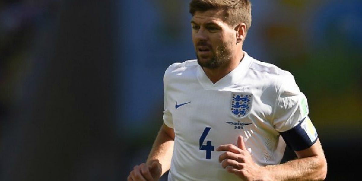 Gerrard ya tiene su candidato para entregarle la capitanía de Inglaterra
