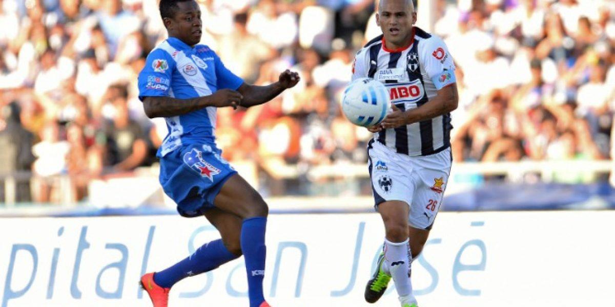 Chupete Suazo se despachó tremenda asistencia en victoria del Monterrey