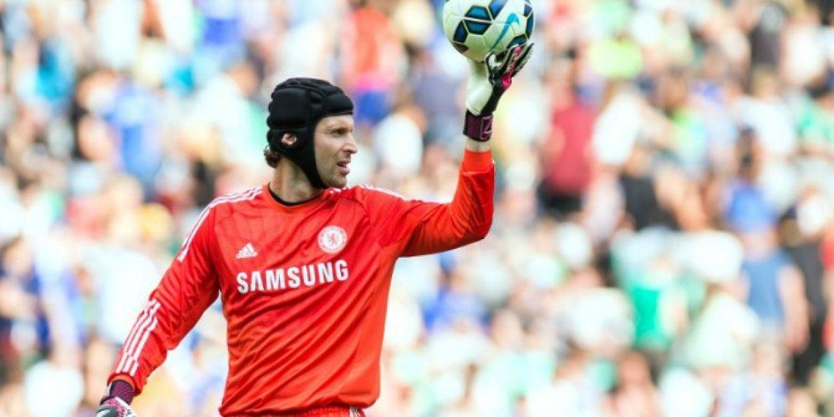 Lo humilló: La respuesta por Twitter de Cech tras una broma por su suplencia
