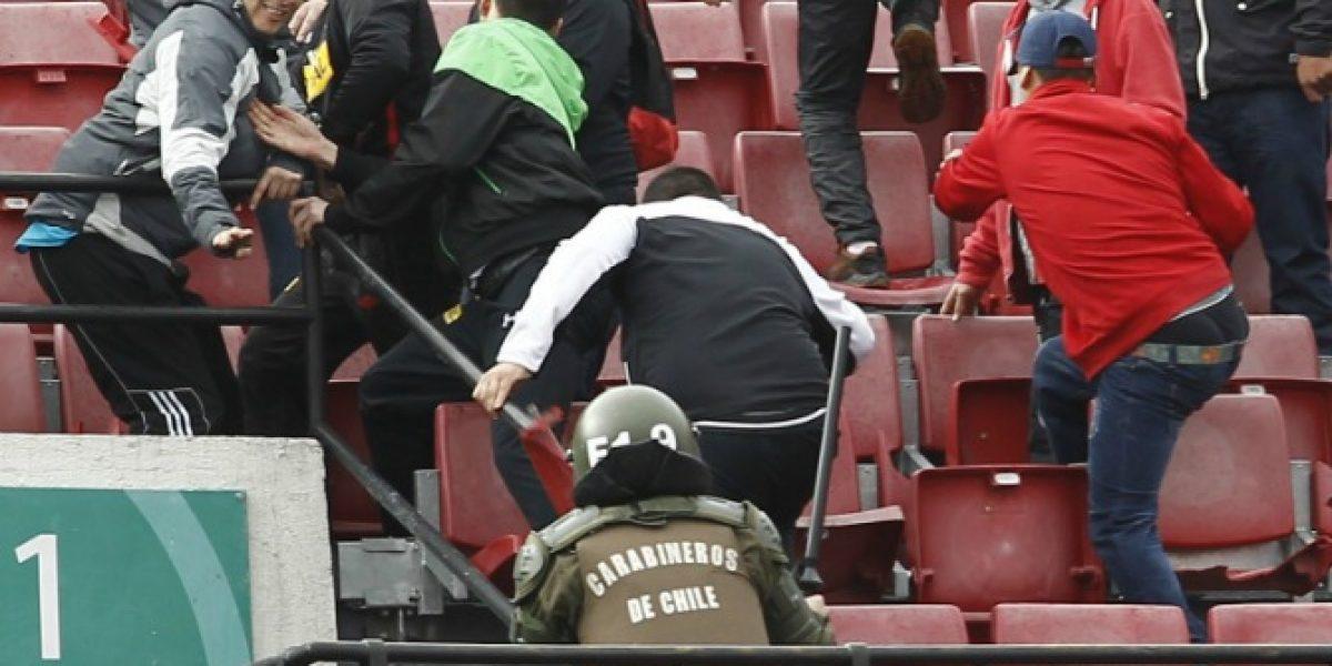 Intendencia Metropolitana anunció querellas contra responsables de incidentes en el Estadio Nacional