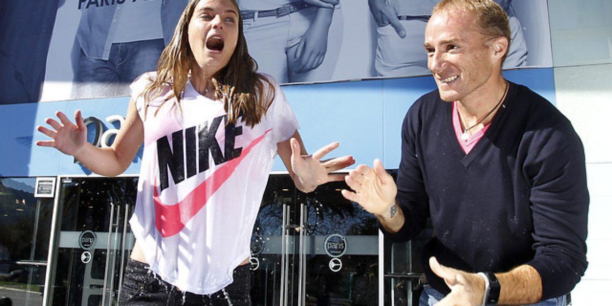 ¿Poleras mojadas? Josefina Montané se unió al #IceBucketChallenge