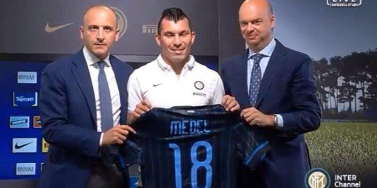 Galería: Mira las mejores fotos de la presentación oficial de Gary Medel en Inter de Milán