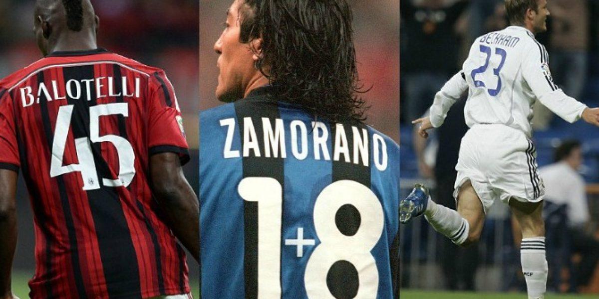 Medio inglés recordó el 1+8 de Zamorano en base al interés de los futbolistas por sus dorsales