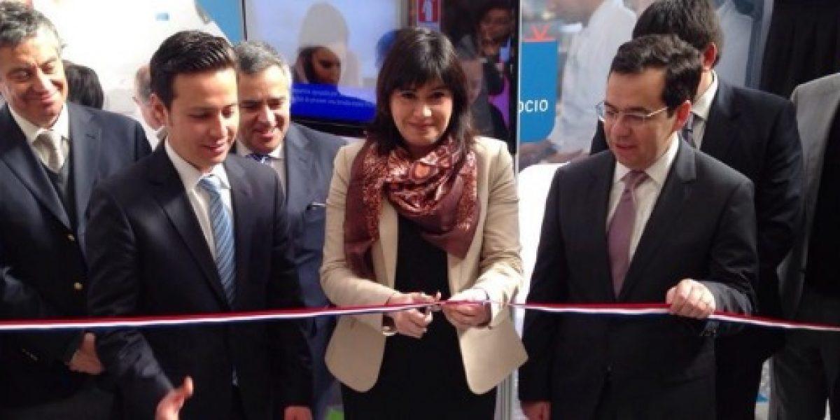 Ministros de Economía y del Trabajo inauguraron la séptima versión del Salón Pyme