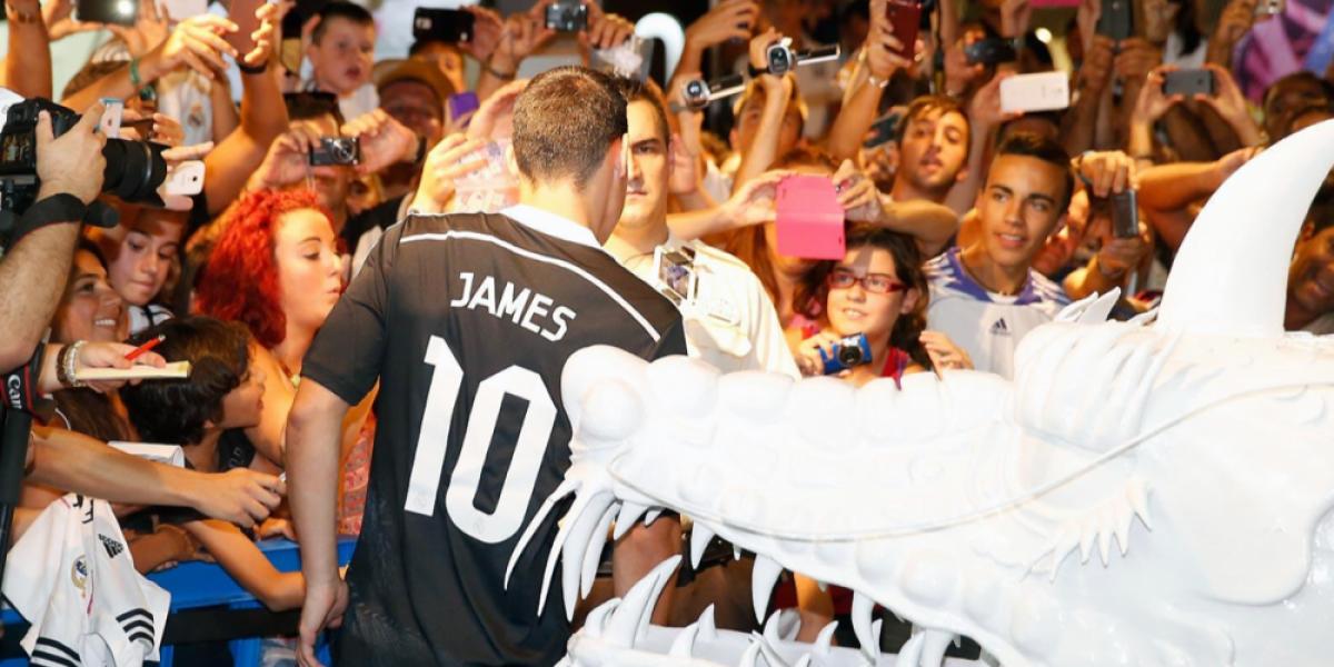 Galería: Real Madrid presentó su nueva camiseta que se acerca a la cultura oriental
