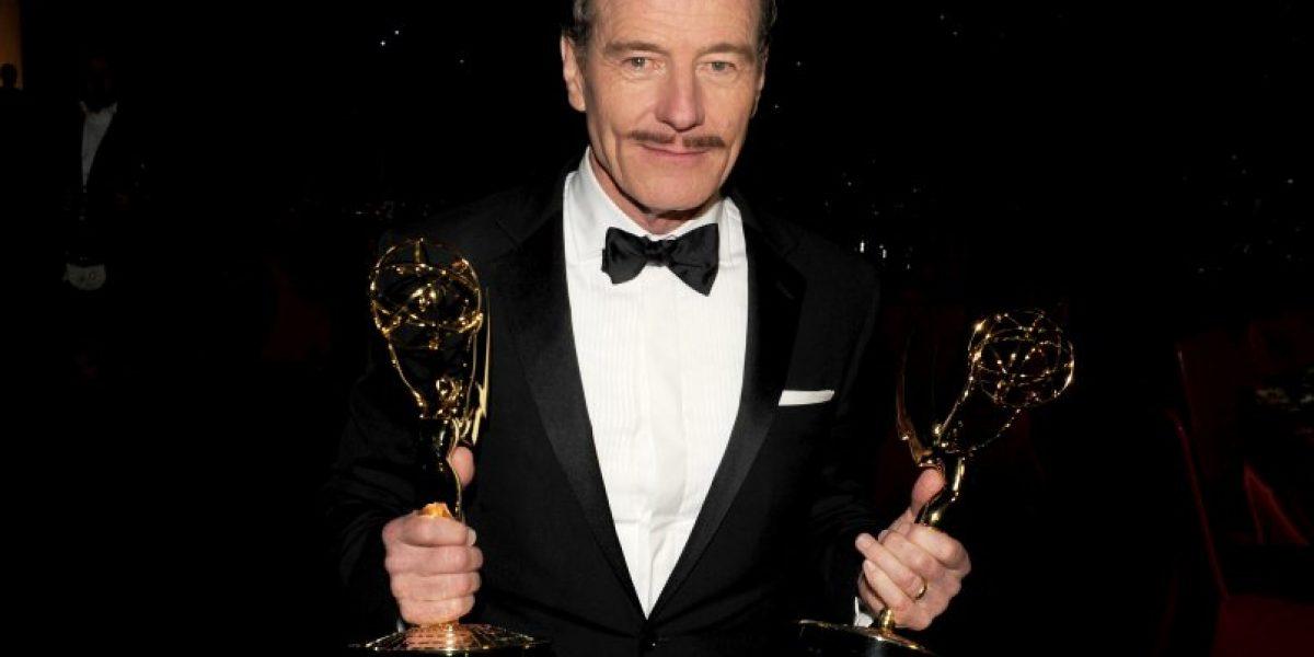 Así felicitaron sus vecinos a Bryan Cranston por su Emmy