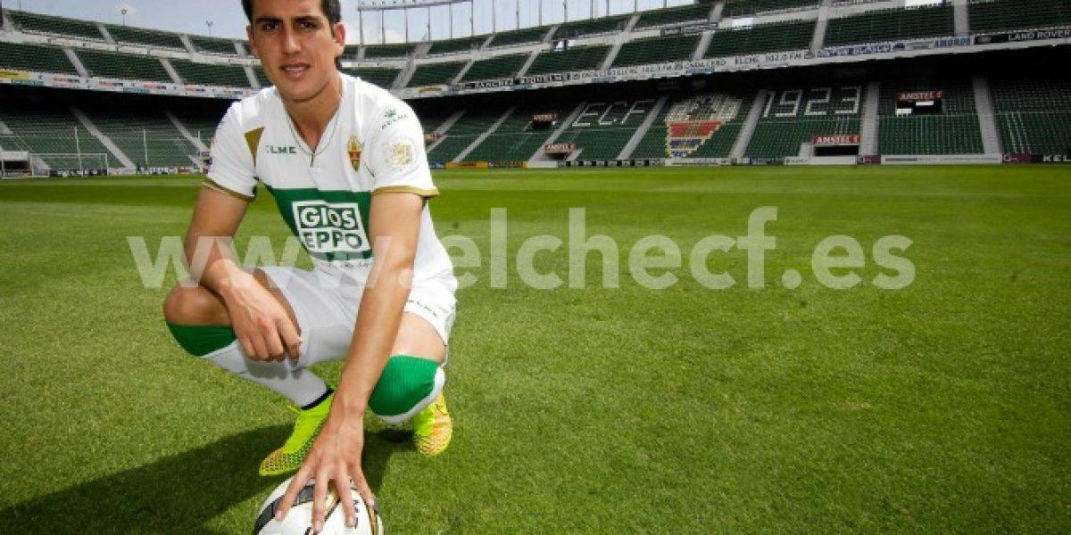 Enzo Roco vive problemas en España y no sabe si podrá jugar en Elche