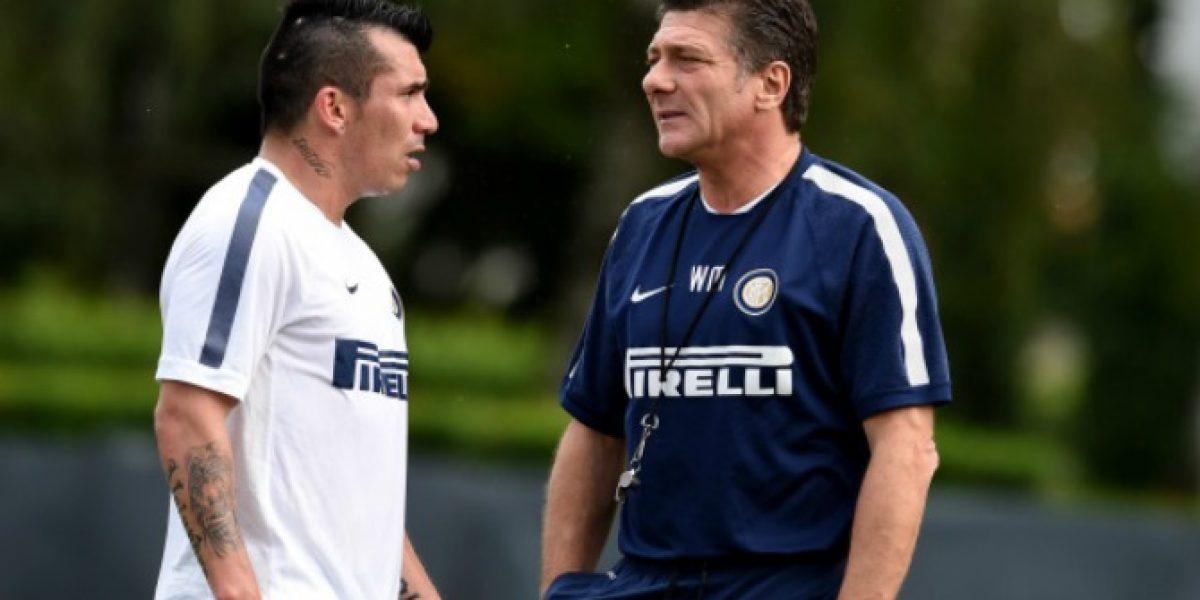 Medel podría debutar antes de lo esperado en el Inter
