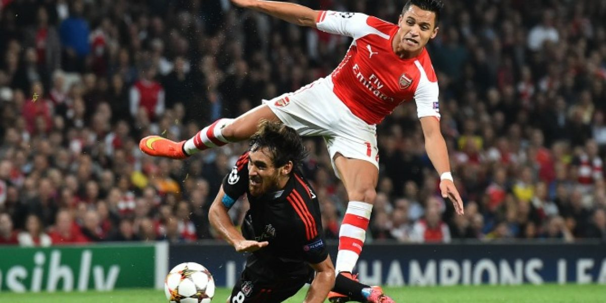 En Twitter se festejó con todo el primer gol de Alexis Sánchez con la camiseta del Arsenal