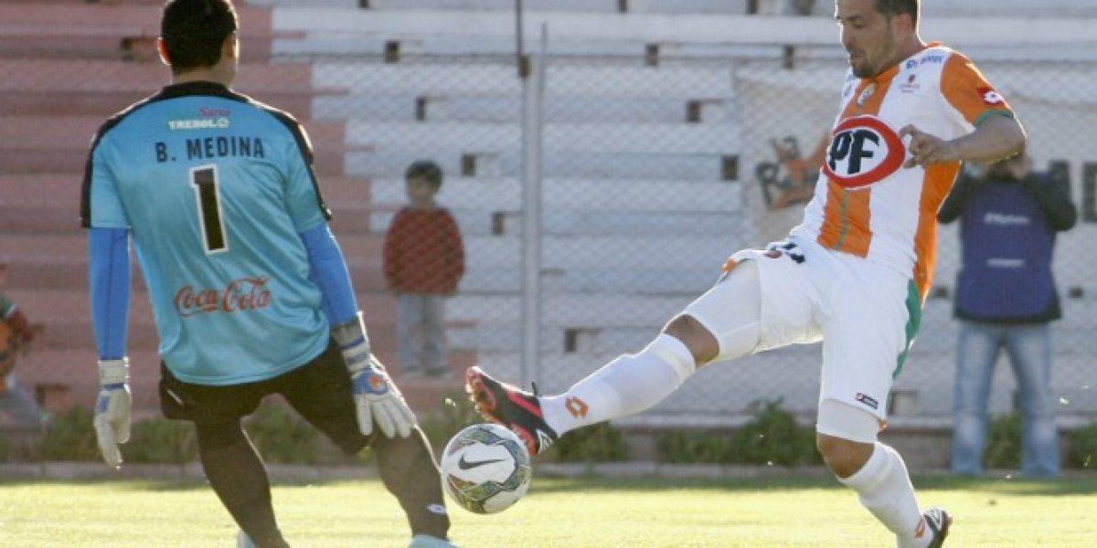 Cobresal tuvo todo para clasificar en la Copa, pero no pudo superar a General Díaz