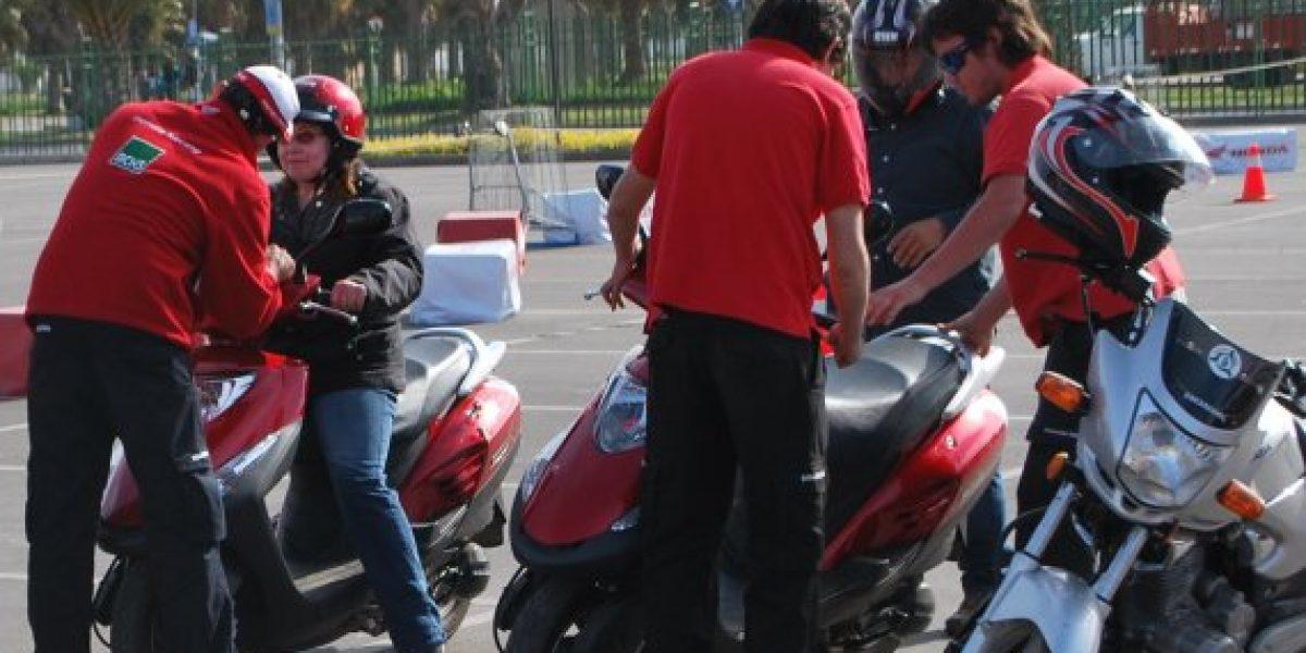 Honda te enseña a andar en moto