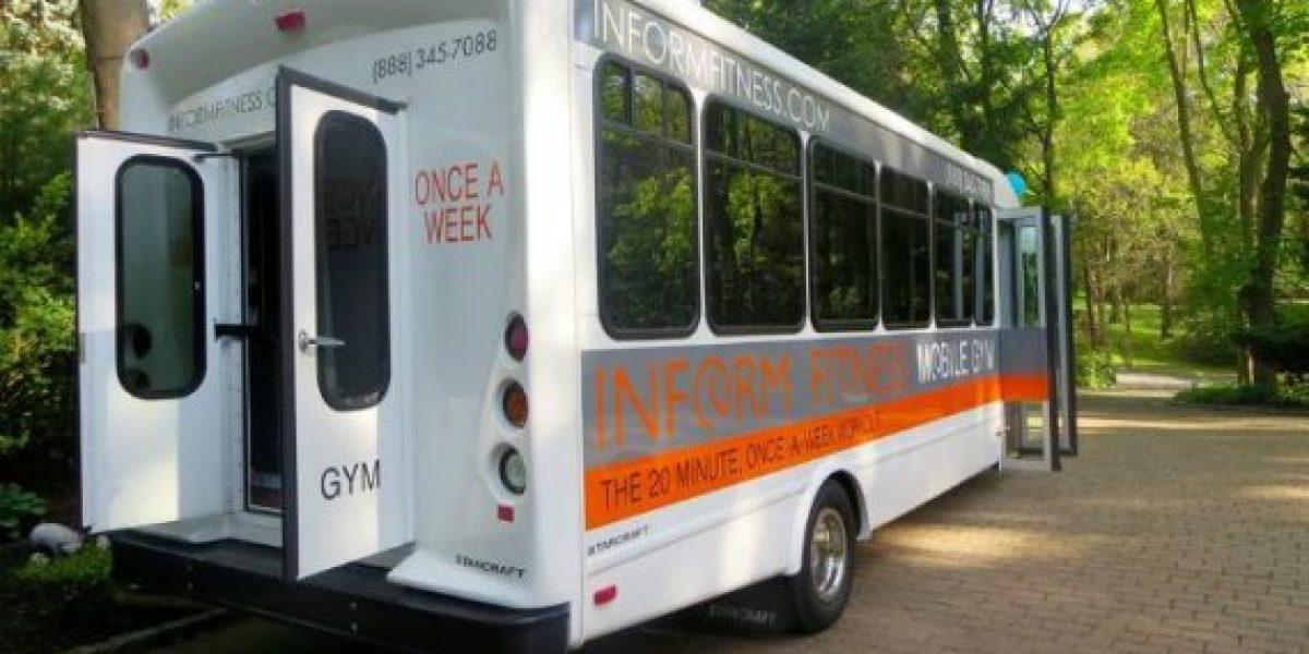 Un bus gimnasio para los que no tienen tiempo