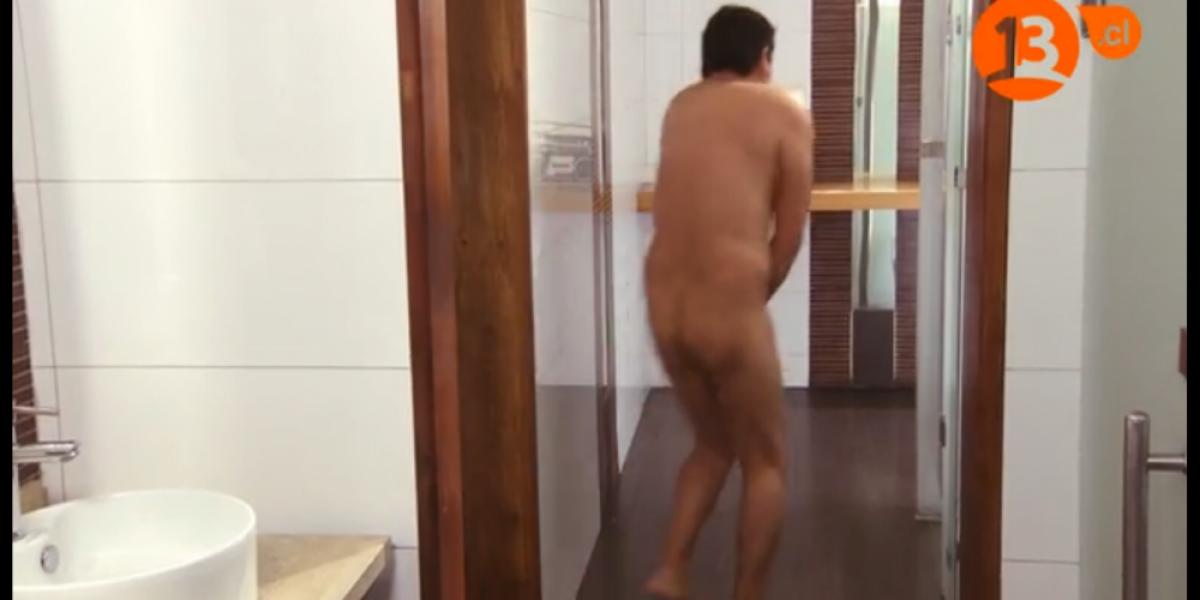 Macaya también se desnudó en