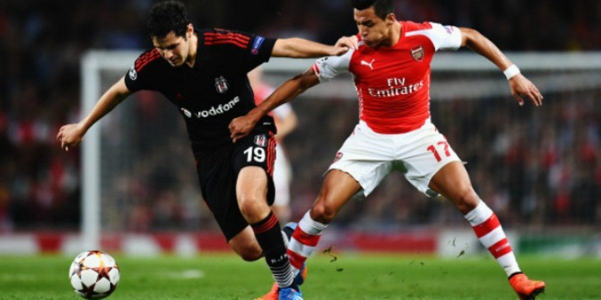 Así vivimos el minuto a minuto de la victoria de Arsenal con gol de Alexis
