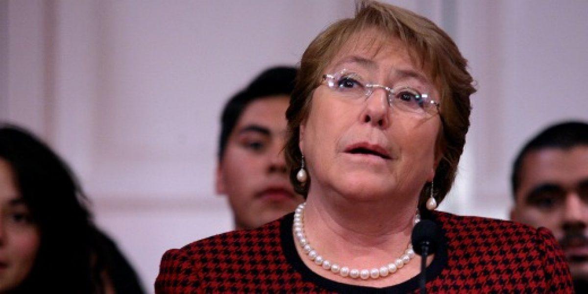 Bachelet en Enape: