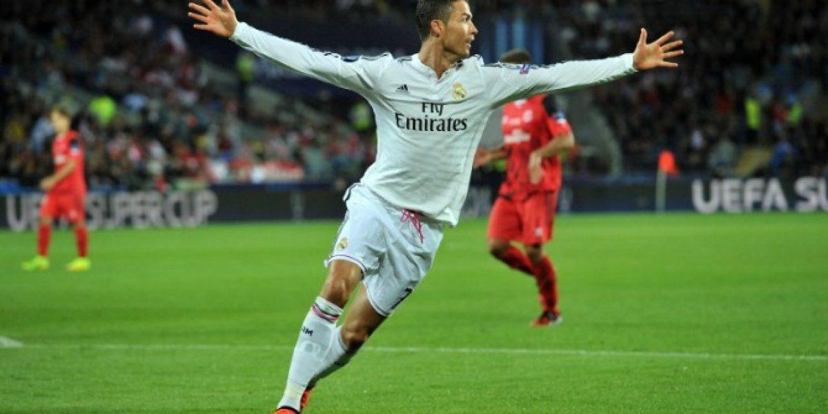 Cristiano Ronaldo se llevó el premio a Mejor Jugador de la UEFA