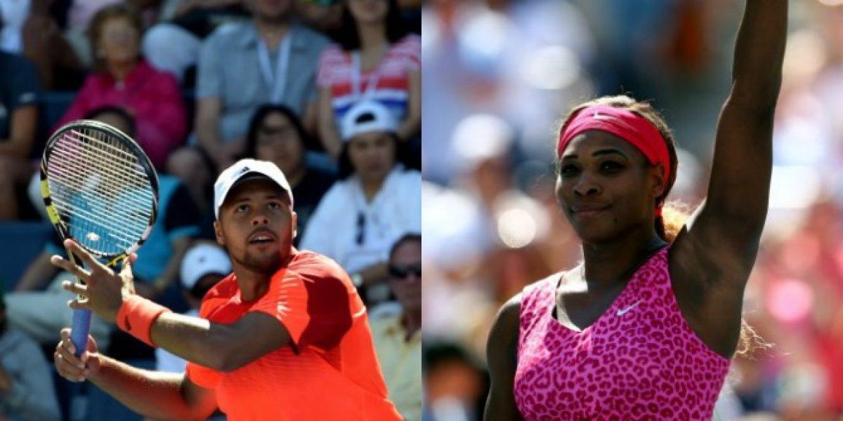 Tsonga y Serena Williams avanzaron sin problemas a la cuarta ronda del US Open