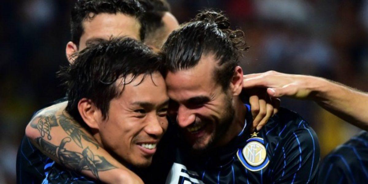 Inter goleó a Stjarnan y le dio la posibilidad a Medel de jugar la Europa League
