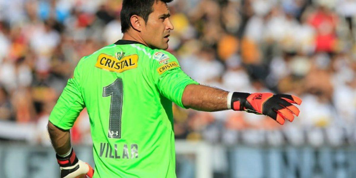 Justo Villar está listo para volver en Colo Colo