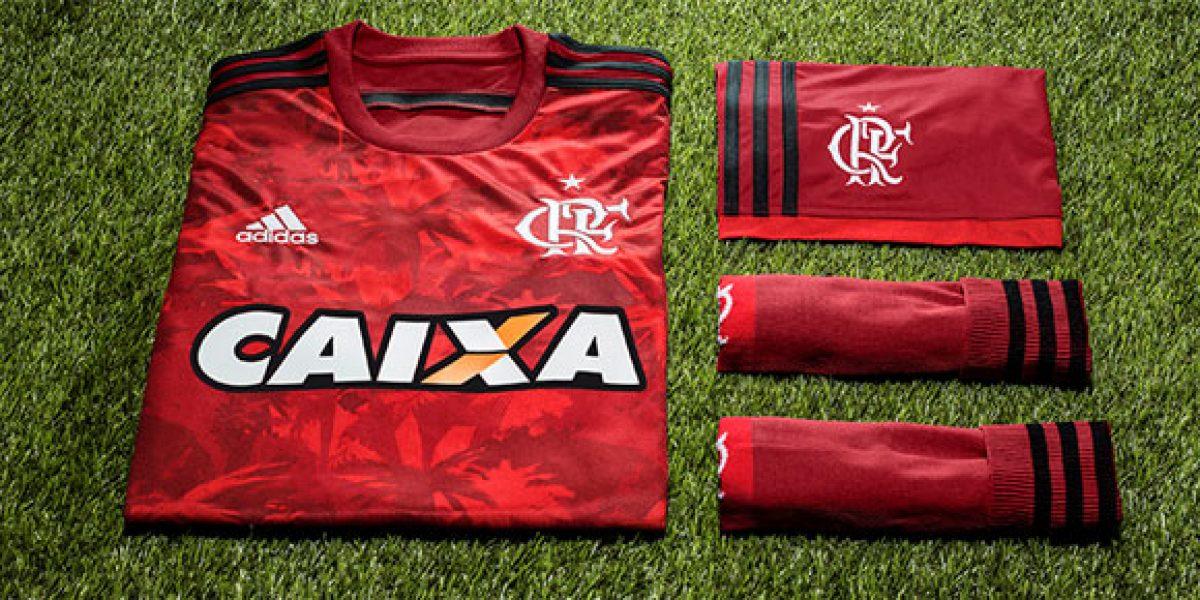 Flamengo lanzó innovadora tercera camiseta basada en una planta