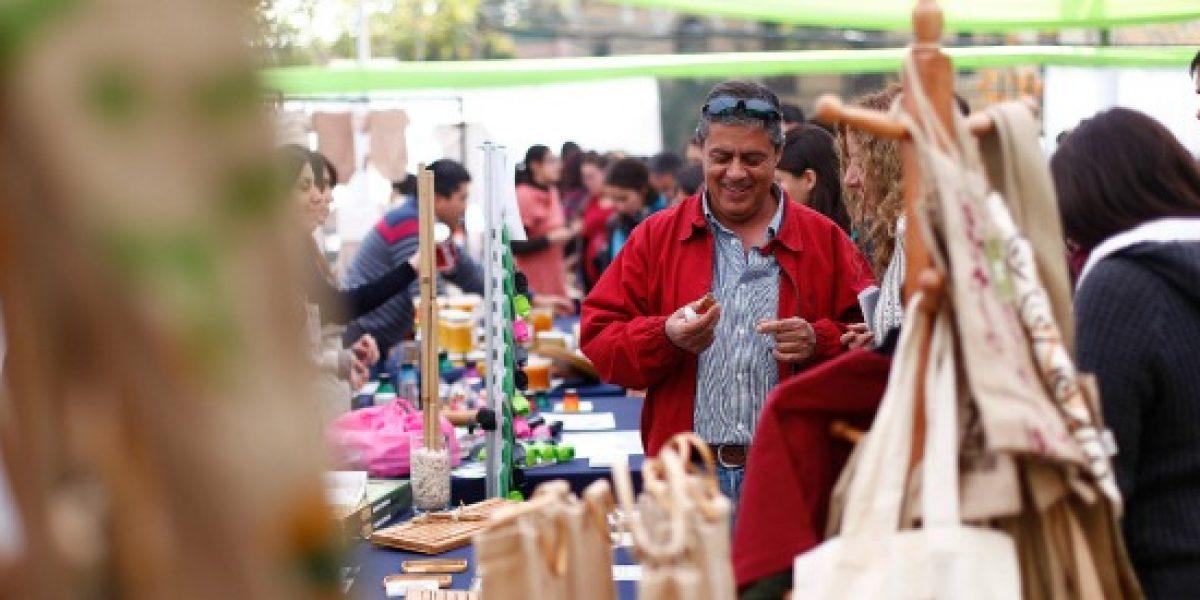 Emprendedores se reunirán en feria verde en Estación Mapocho